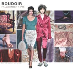 from Fashion Snoops, F/W 14/15 Magic Boudoir