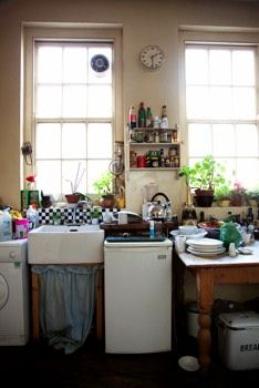 More messy kitchen.