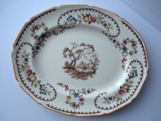 Vintage Royal Doulton The Beaufort Oval Bone China by thechinagirl just listed! #etsy