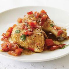 Chicken in Vinegar Sauce Recipe - Paul Bocuse | Food & Wine