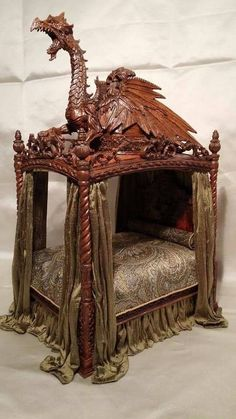 Dragon bed, made by IGMA