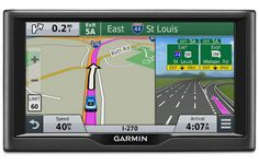 "The Garmin nuvi 67LMT is a portable navigator with 6"" screen, free lifetime map & traffic updates & full Foursquare integration. Read the full Garmin nuvi 67LMT review. #garminnuvi67lmt #garmin #gps #garmingps"