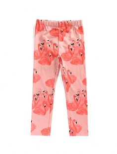 Buy Littlehorn Flamingo Leggings Industrial Style, Flamingo, To My Daughter, Leggings, Girls, Summer, Stuff To Buy, Design, Fashion