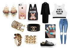 """Sans titre #1522"" by heartss-13 ❤ liked on Polyvore featuring Minga, Converse, Marni, Moschino, Natasha, Nach, Balenciaga and Chanel"
