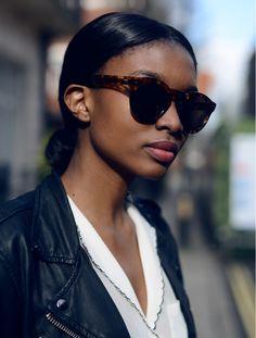 21fbd3c47444cb Model and blogger of  BisousNatasha,  Natasha S Ndlovu, wears our 0734  sunglasses