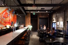 lounge :: 쩡제놀이터 :: [Coffe Shop & Bar Design] Creative Alliance Cafe - PI.KL Studio and Kroiz Architecture