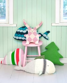 Sweater recycling into softies