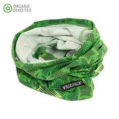 Tube Scarf: Forest Camo Star
