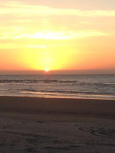 Sunset at Cherry Grove Beach,  SC