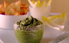 spinach and cannelini bean dip