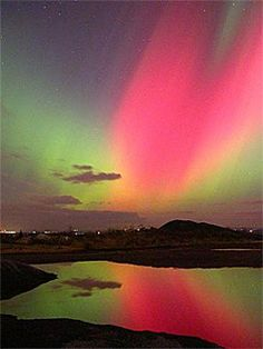 ✯ Sherbrooke, Quebec - Northern Lights