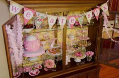 Vintage Pink & Yellow Tea Party