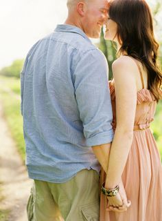 Spring engagement shoot ~ Depict Photography