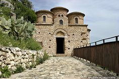 the little Cattolica of Stilo century): a genuine example of byzantine church of the middle age in Calabria, IT