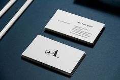 Simple but stylish business card design
