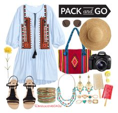 """Ya voy a México"" by musiclover0406 ❤ liked on Polyvore featuring H&M, NOVICA, MANGO, Flora Bella, Eos, Jose & Maria Barrera and Mixit"