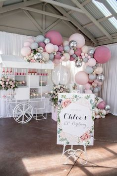 Quinceanera Party Planning – 5 Secrets For Having The Best Mexican Birthday Party Balloon Garland, Balloon Decorations, Baby Shower Decorations, Pastel Party Decorations, Balloon Ideas, Glamour Party, Cocktail Party Decor, Cocktail Movie, Cocktail Sauce