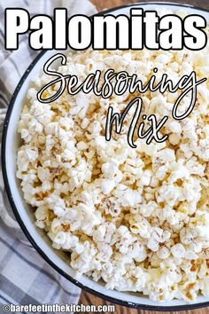 Palomitas Seasoning Mix Seasoning Mixes, Cooking Recipes, Snack Recipes, Healthy Recipes, Spiced Nuts, Gluten Free Pie, Homemade Spices, Puppy Chow, Food Categories