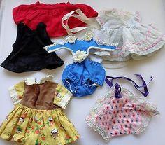 "Vintage Lot Doll Clothes Arranbee Littlest Angel 10"" also NASB Debbie, Addie etc"