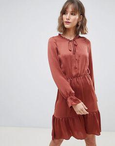 Vero Moda Smock Midi Dress Fashion Online, Asos, Clothes For Women, Skirts, 840092e19ffd