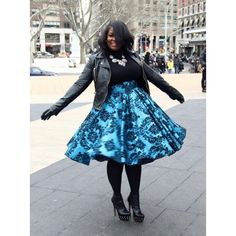 Thick girl fashion - Get your swag on!