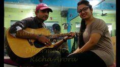 Tum Ko Dekha To Yeh -Saath Saath - Jagjit Singh- Guitar cover By Dharmes...
