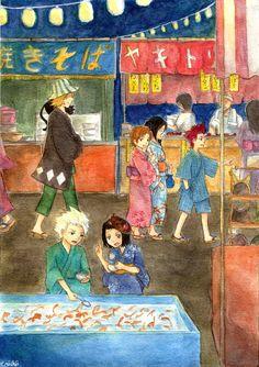 Festival by emichii on DeviantArt