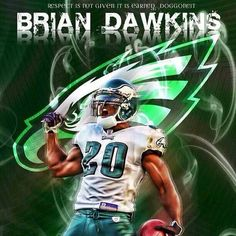 Brian Dawkins we will miss U. one of the best 2018 Hall of Famer 8db62bf2e