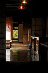 the other side of the corridor (chikache) Tags: autumn light house japan nagano nakasendo narai kiso shiojiri