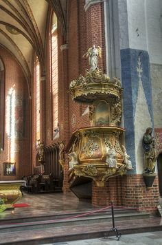 Cathedral of St. John the Baptist and St. John the Evangelist, Torun, Poland