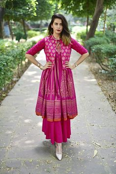 By far the most Indian ensemble around, the Anarkali is the most loved Indian outfit by women. We are sharing with you some very pretty Anarkali outfits that we saw last year. Preeti Pooja Preeti Pooja is the official writer at LookVine. Indian Gowns Dresses, Indian Fashion Dresses, Indian Outfits, Ethnic Fashion, Pakistani Dresses, Designer Party Wear Dresses, Kurti Designs Party Wear, Stylish Dress Designs, Stylish Dresses