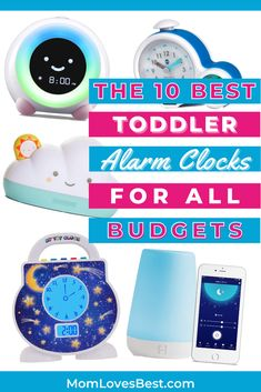 One of the hardest things about being a parent is how much sleep you can lose. Reclaim your precious shut-eye with toddler alarm clocks. You'll stop feeling like a zombie all day. Toddler Alarm Clock, Sleeping Too Much, Sleep Schedule, Alarm Clocks, Sleeping Through The Night, Baby Sleep, Budgeting, Parenting, Eye