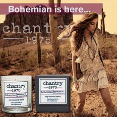 Bohemian is here!!! Available on our website in glass, tins and ceramic. A beautiful blend of Frankincense & Myrrh. Get yours now!!! #bohemian #frankincense #myrrh #candles #pottery #artisan #smallbatch #handpoured #losangeles #newyork #palmsprings #palmbeach #ojai #craft #fragrance #boho #blogger #perfumer #lajolla #westcoast #lajollalocals #sandiegoconnection #sdlocals - posted by Chantry 1975  https://www.instagram.com/chantry1975. See more post on La Jolla at http://LaJollaLocals.com