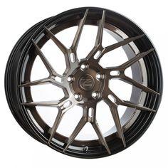 Z-Performance ZP.FORGED 5 Super Deep Concave Felgen in Brushed Bronze Black Lip (3) Porsche, Volvo V60, Audi Q3, Forged Wheels, Bmw, Car Tuning, Car Wheels, Concave, Car Detailing