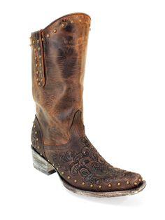 Ladies Old Gringo Eponnie 10 Inch Chocolate Western Boots - #CowgirlChic