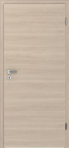 PRÜM Zimmertür CPL Pera-Creme Holz quer Röhrenspanplatten Rundkante