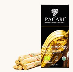 An unique bar of its kind, the sweet flavor of taffy combined with the rich flavors of Pacari dark chocolate. Sweeter than most of the other bars and very unique flavor, the small pieces of taffy practically melt on your tongue as you enjoy the bar.