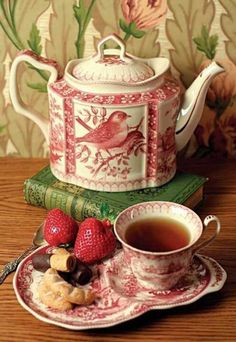 Beautiful, love the teapot