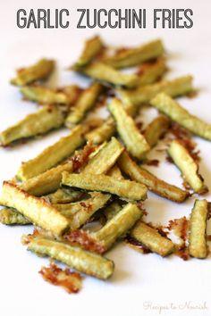 Garlic Zucchini Fries