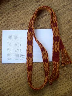 Card Weaving w/pattern