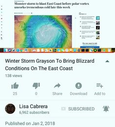 🚨🚨🚨 #ATTENTION 🚨🚨🚨  #SOUTH #AND #NORTH #EAST #COAST   #FLORIDA #GEORGIA #CAROLINA   #VA #NY #DC #PA #NJ #TO #MAINE   #COLDEST #WINTER #STORM #EVER   #STARTS #WEDNESDAY - #SNOW #FALL   #GRAYSON #EXPECTED_TO_HIT   #LIKE_A_HURRICANE -   #POSSIBLE_ELECTRICITY_OUT_2_DAYS   #FRIDAY_AND_SATURDAY   https://youtu.be/Xrm36fm4W8c
