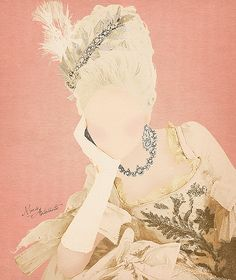 Marie Antoinette; trying to get a few ideas for my tattoo. :p
