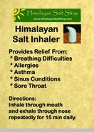 Pink Salt Inhalation Can Be Extremely Beneficial For Your Health – Here's How Asthma Remedies, Allergy Asthma, Herbal Remedies, Natural Remedies, Salt Inhaler, Essential Oils For Colds, Himalayan Salt, Health Advice