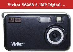 Vivitar VS28B 2.1MP Digital Camera - Black. Vivitar VS28B.