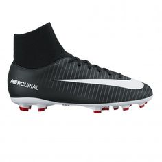 8d8c63dc20 Nike Mercurial Victory VI Dynamic Fit FG 903600 voetbalschoenen junior  black universitt red white De Wit Schijndel