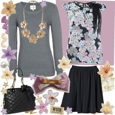 """Purple"" by sawilson98 on Polyvore"