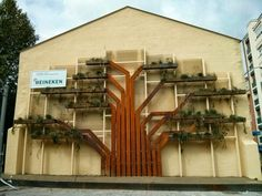 Jardín Vertical Eco.Frame en Vitoria #proyectos #trabajos