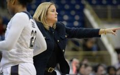 Pitt women's hoops coach McConnell-Serio out
