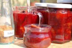Fahéjas szilvadzsem Ketchup, Jelly, Salsa, Mason Jars, Spices, Canning, Drinks, Tableware, Desserts