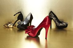 Glitz and glam…find your perfect evening shoes! #dsw    Shoes: Lulu Townsend Tilly, Audrey Brooke Dawn, Lulu Townsend Valentine